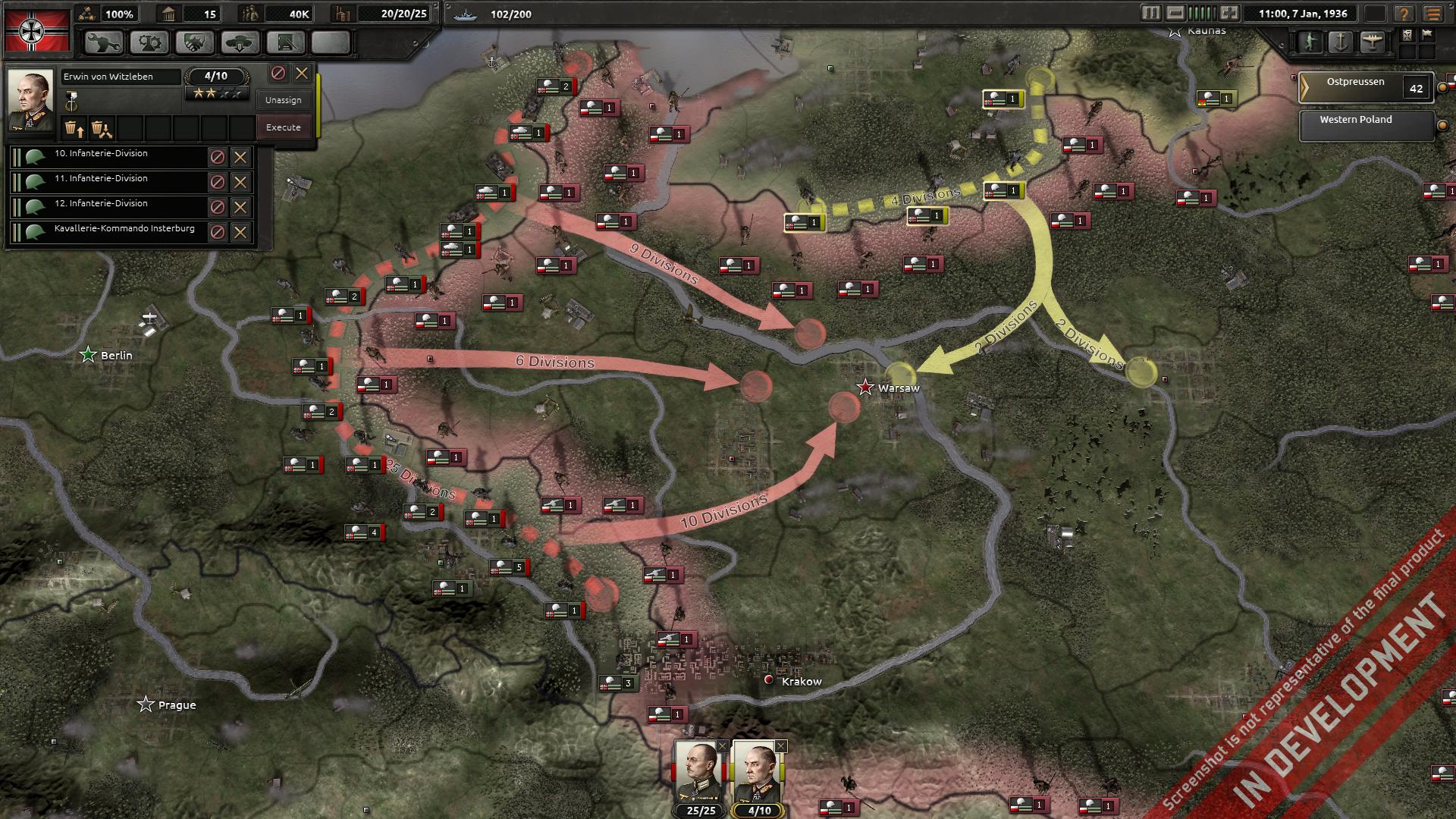 Hearts of Iron IV's first in-engine footage briefly shown, World ...