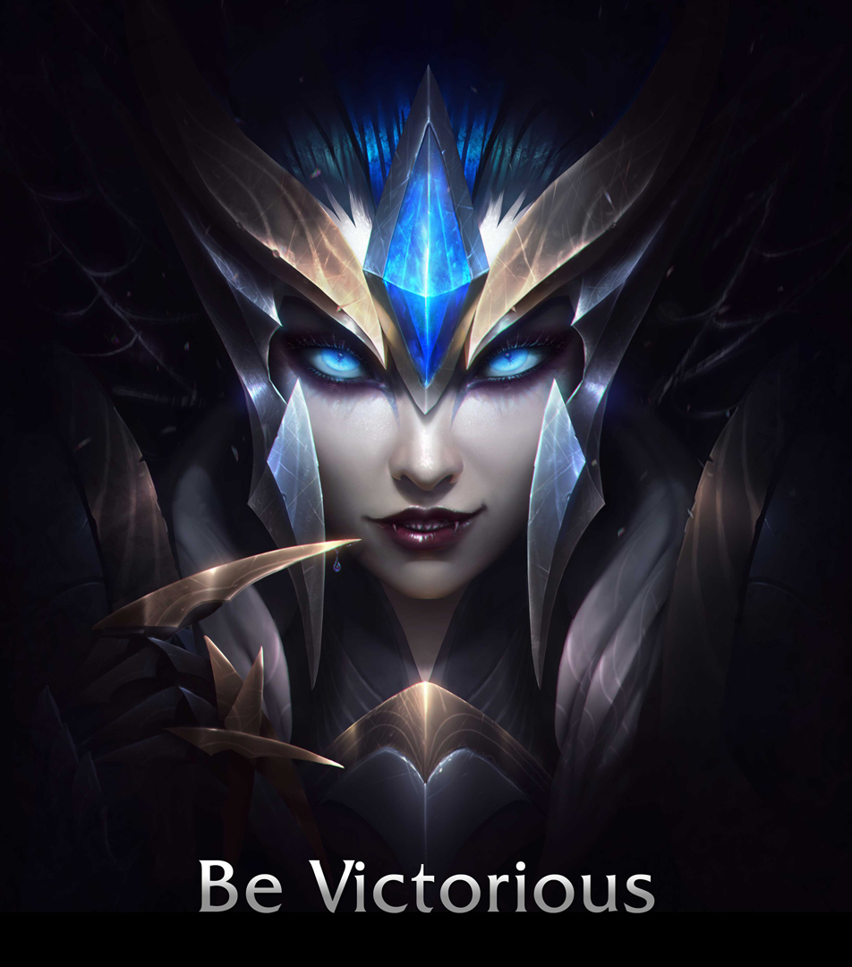 ladder rewards announced  Gold Tier or higher get Victorious EliseVictorious Janna Wallpaper