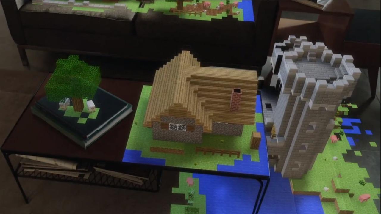 e3 2015  microsoft u0026 39 s minecraft ar demo makes hololens seem