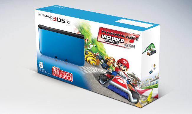 nintendo readies 200 mario kart 7 3ds xl bundle for early. Black Bedroom Furniture Sets. Home Design Ideas