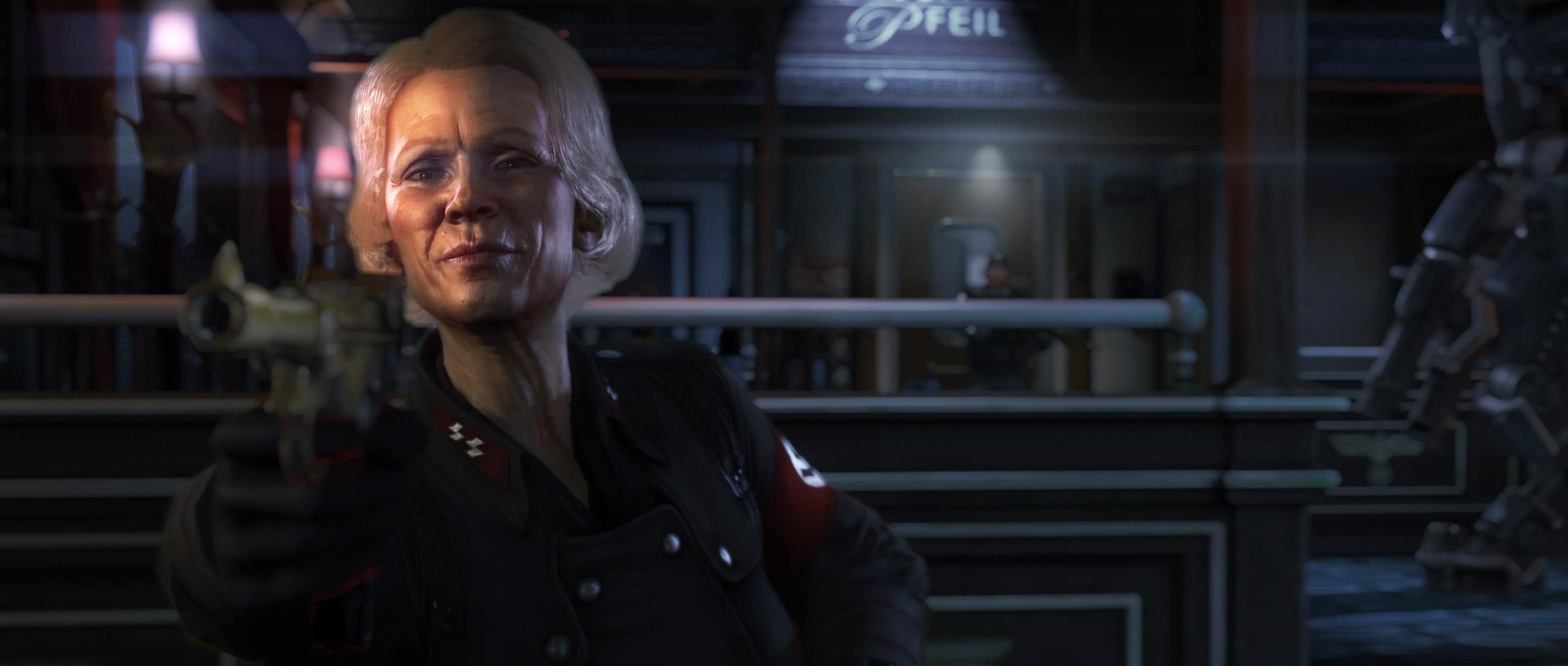 Wolfenstein the new order sex scene