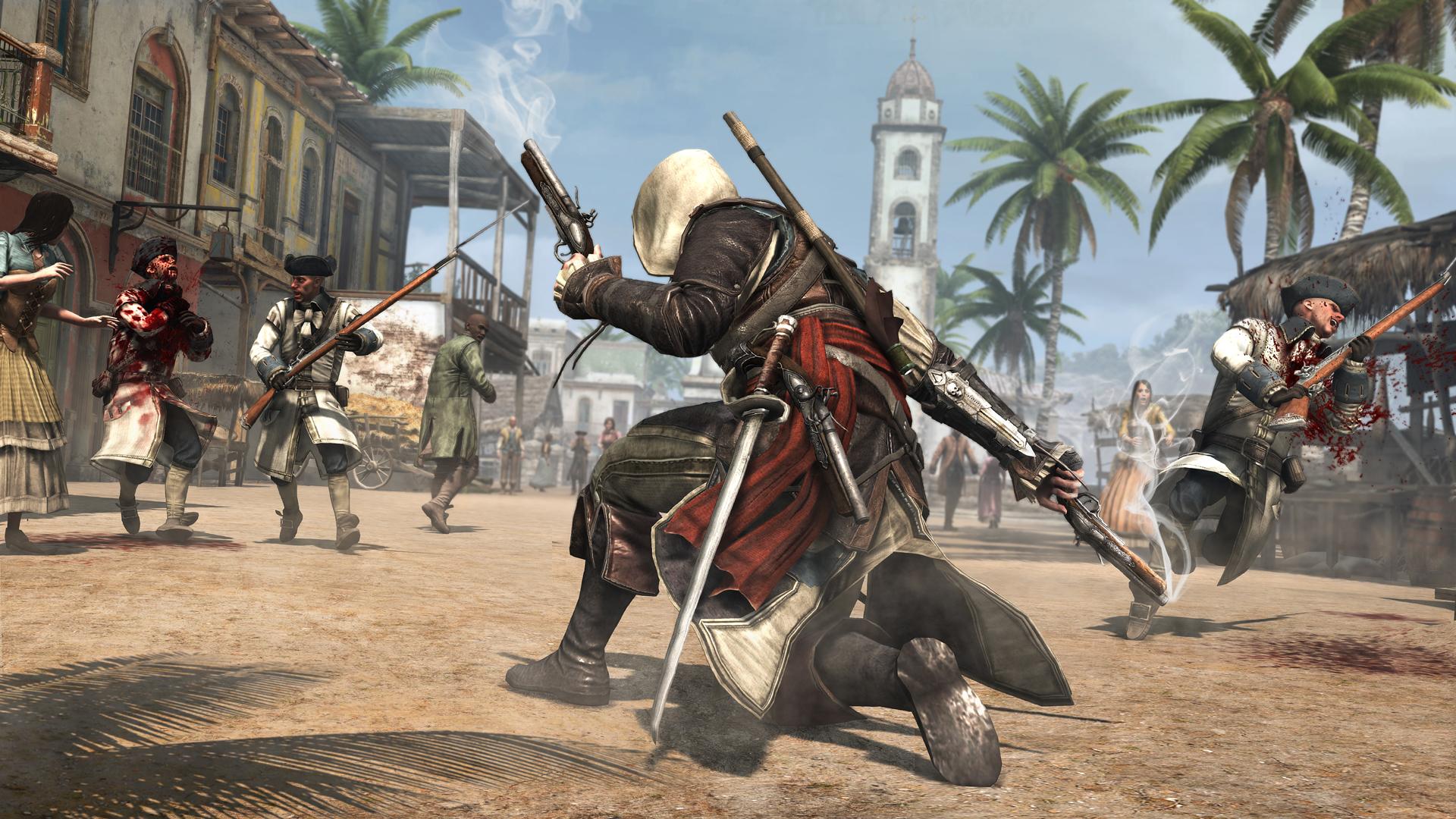 Скачать assassin s creed 4 черный флаг.