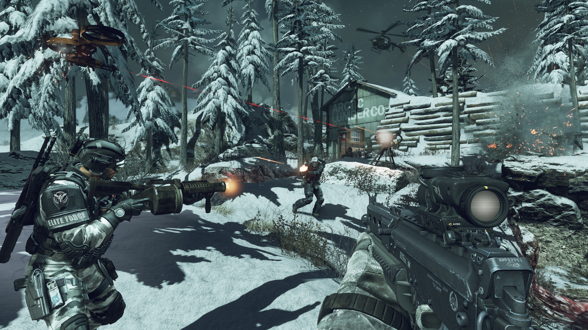 Call Of Duty Ghosts Official Pc System Requirements Live Windows