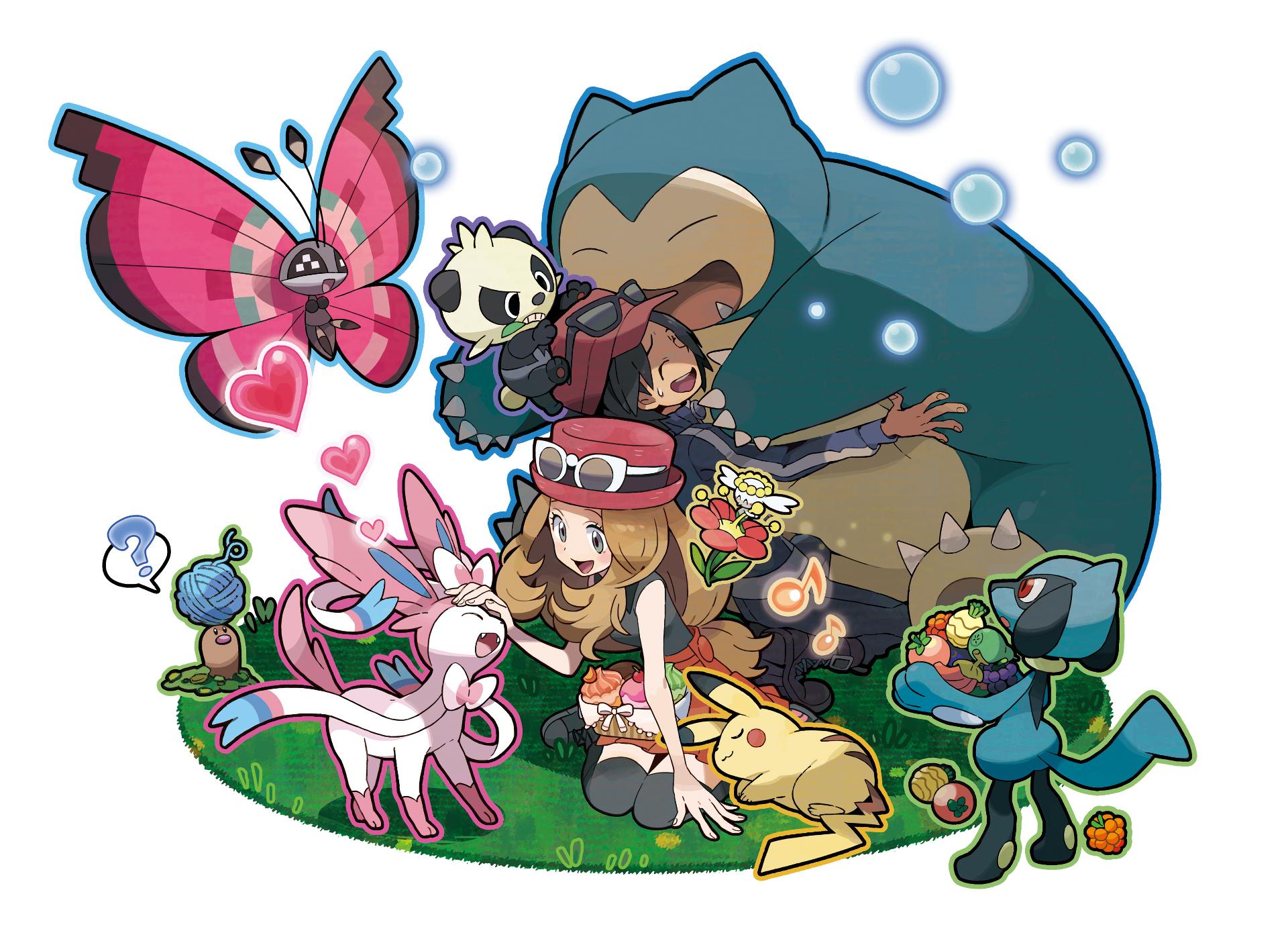 Pokemon X and Y introduces Litleo, Flabébé, Scatterbug ...