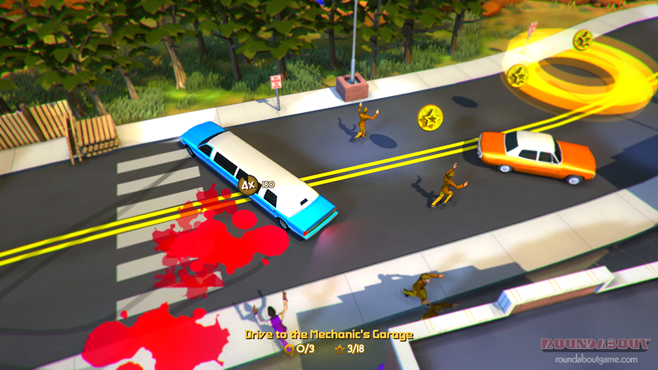 April Fools': Roundabout's first-person, motion sickness