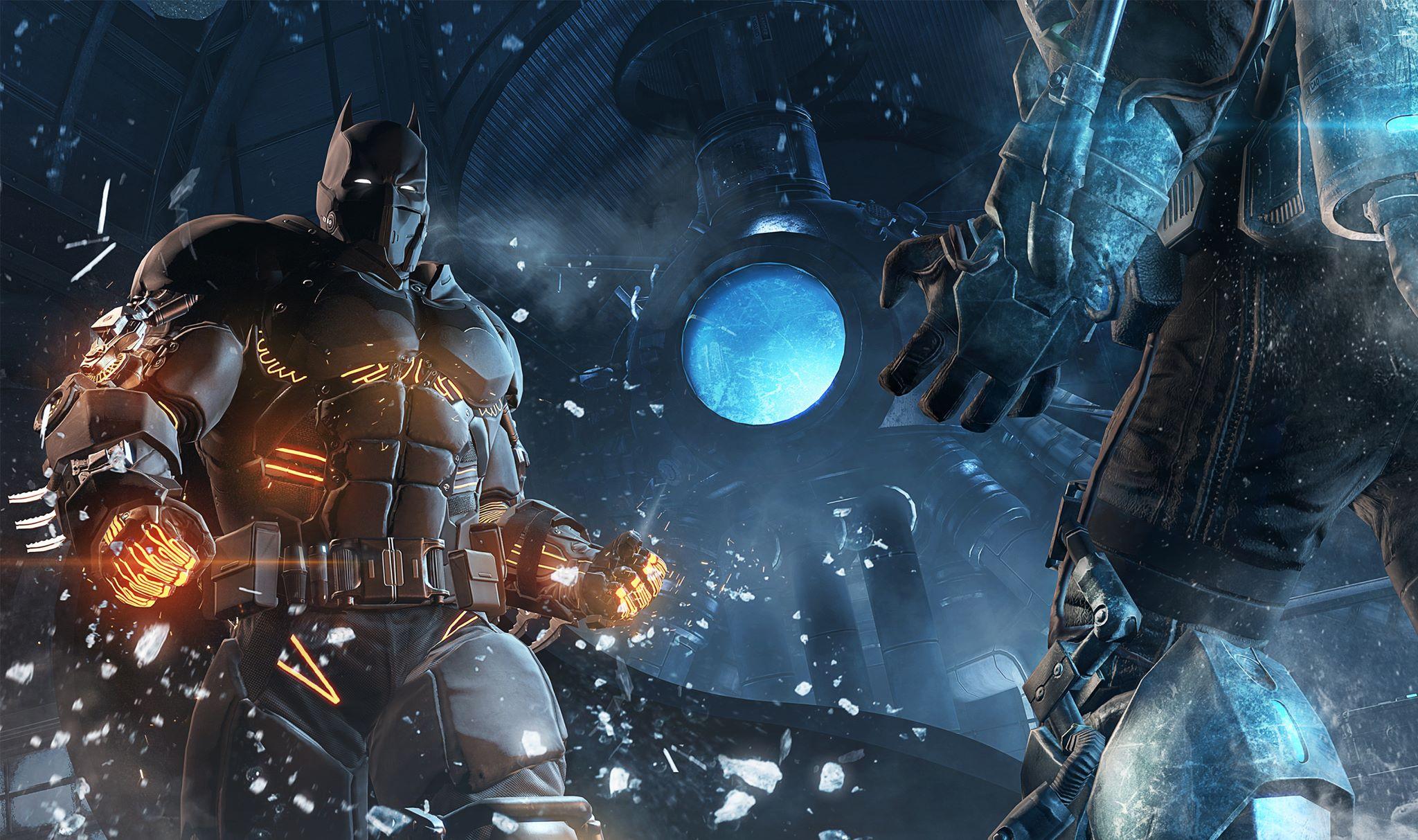 With Every Written Word I Am Struggling Not To Make An Arnold Schwartzeneggar Tier Pun Regarding Todays Batman Arkham Origins DLC Release