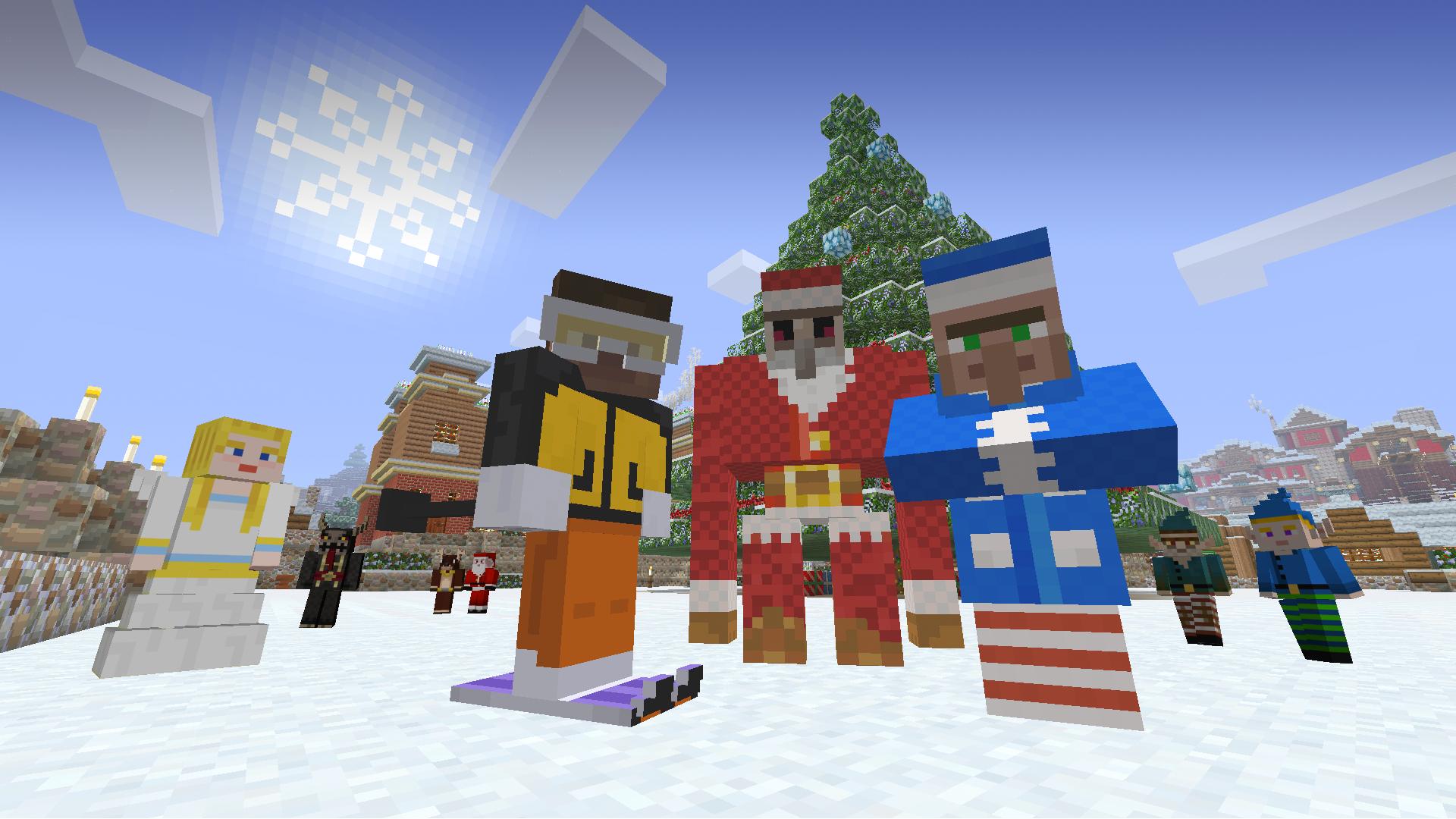 Most Inspiring Wallpaper Minecraft Winter - festivemashuppack_xboxone_1920x1080  HD_87224.png