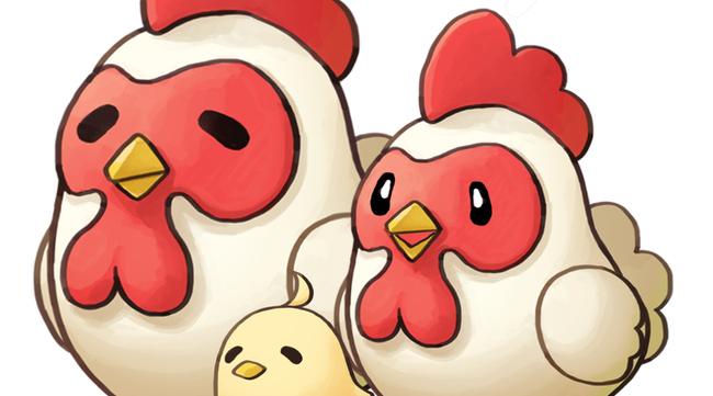 harvest moon nes game how to get chickens