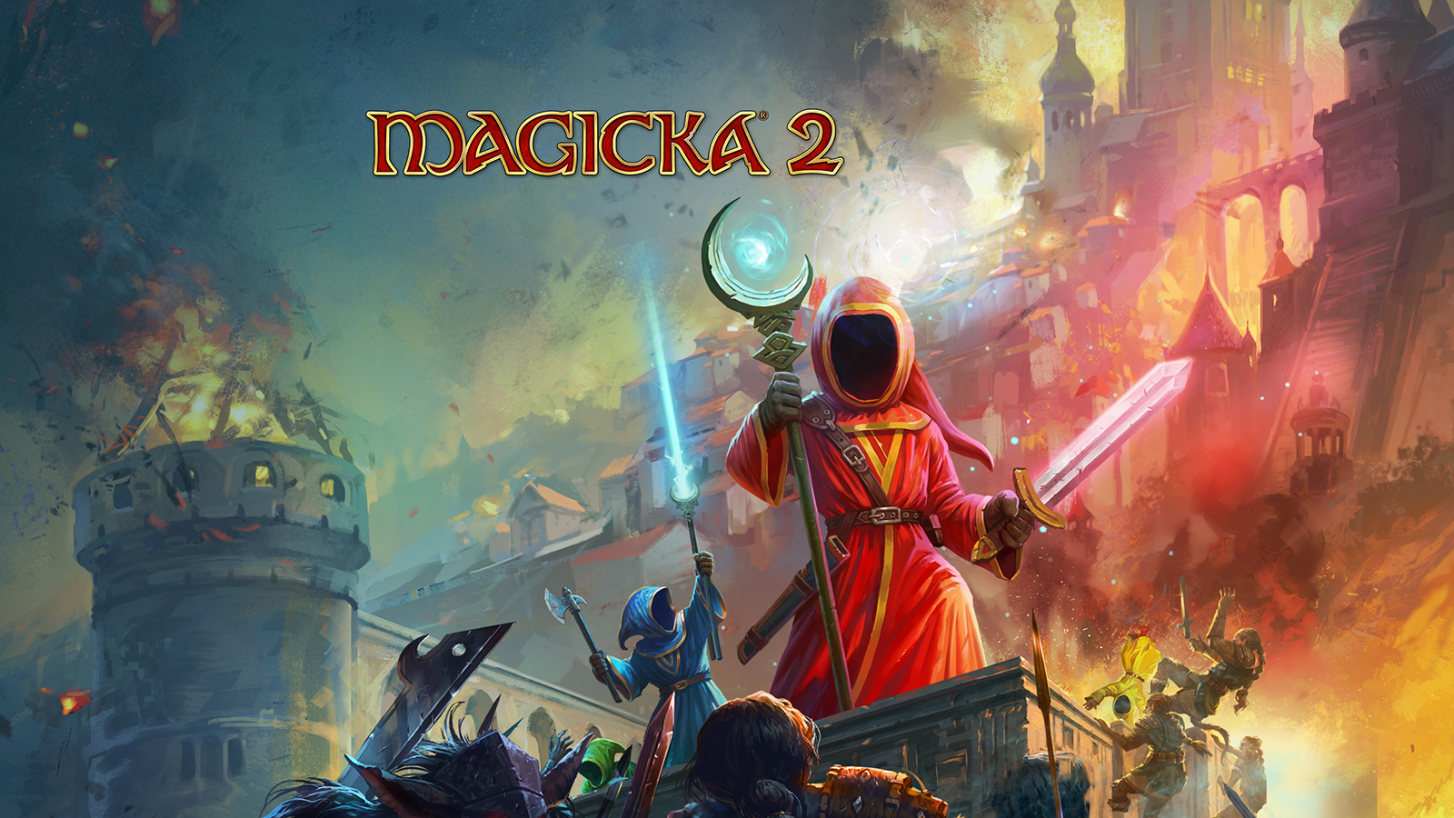 Steam Games For Ps4 : Magicka weaves its spells across mac linux and steam