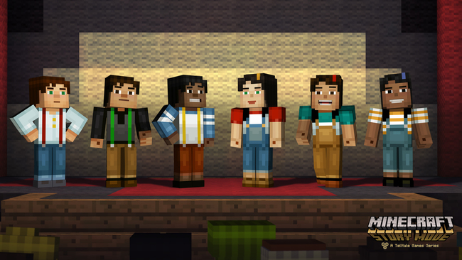 Minecraft Story Mode Lets Players Choose Gender And Design Of Main Character Jesse Neoseeker