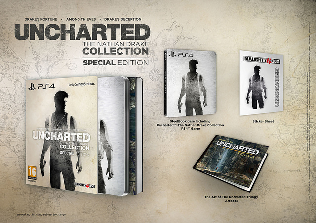 Uncharted The Nathan Drake Collection Special Edition Is