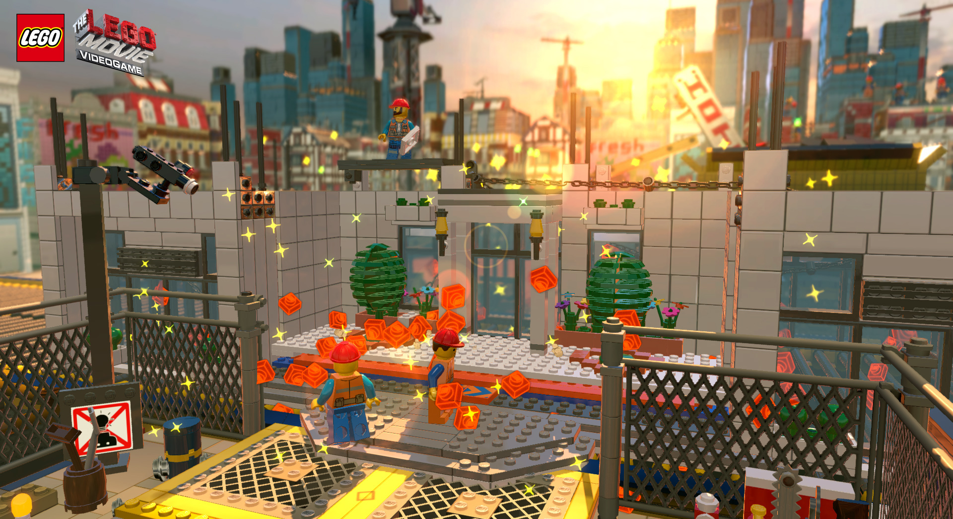 The LEGO Movie Videogame announced, the game based off of the movie based off of the toys