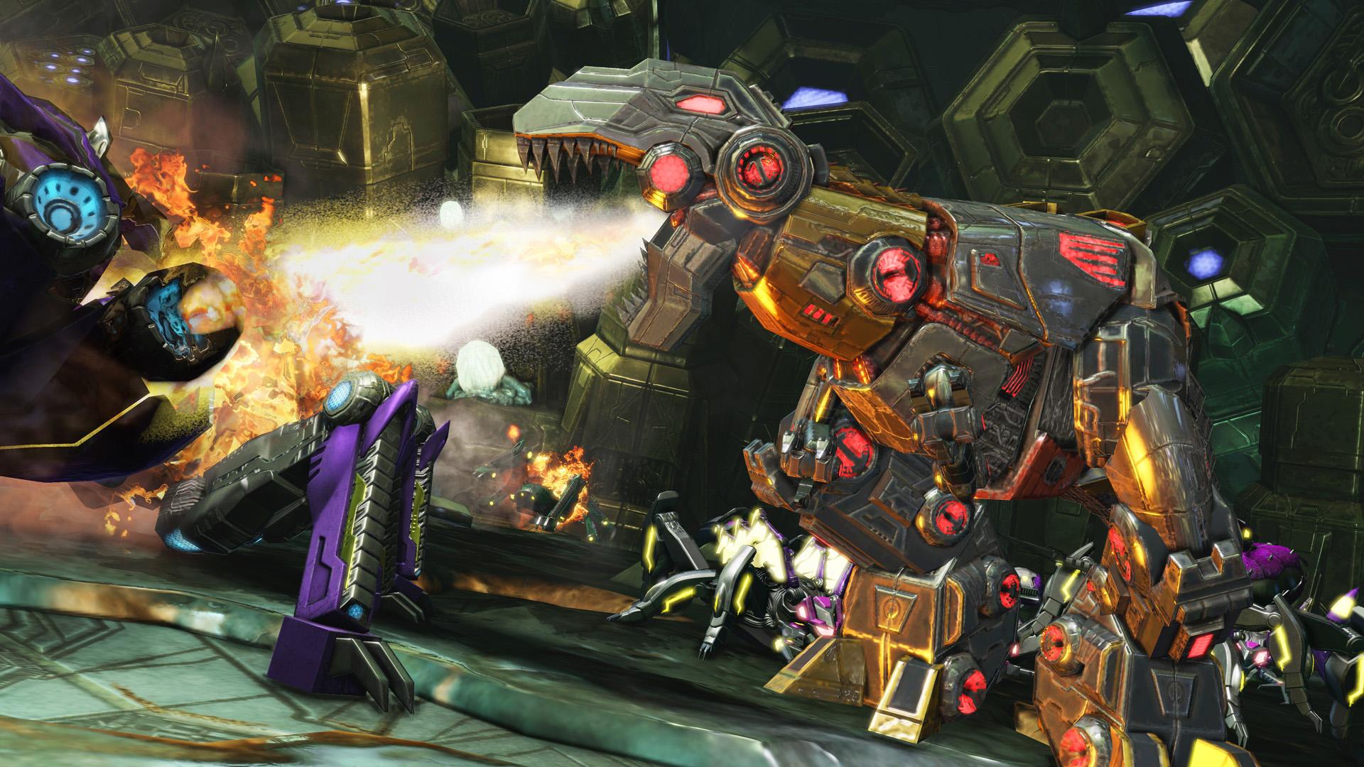 Transformers Fall Of Cybertron Walkthrough Highlights Grimlock S
