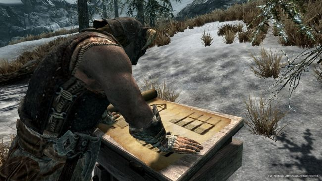 Skyrim Hearthfire Screens Feature Cooking Trophy Room