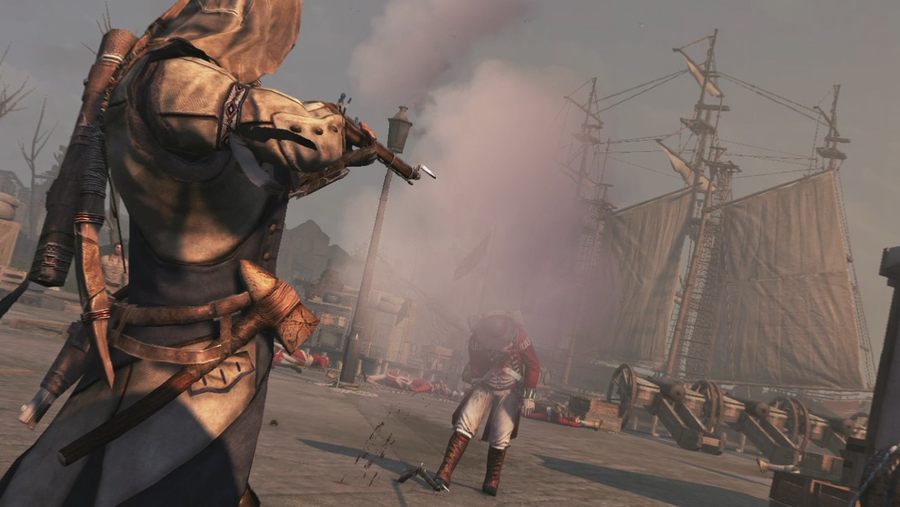 Assassin S Creed 3 Trailer Goes Over Connor S Impressive Arsenal