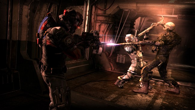 Dead Space 3 Screens Feature Crew Suits Co Op Neoseeker