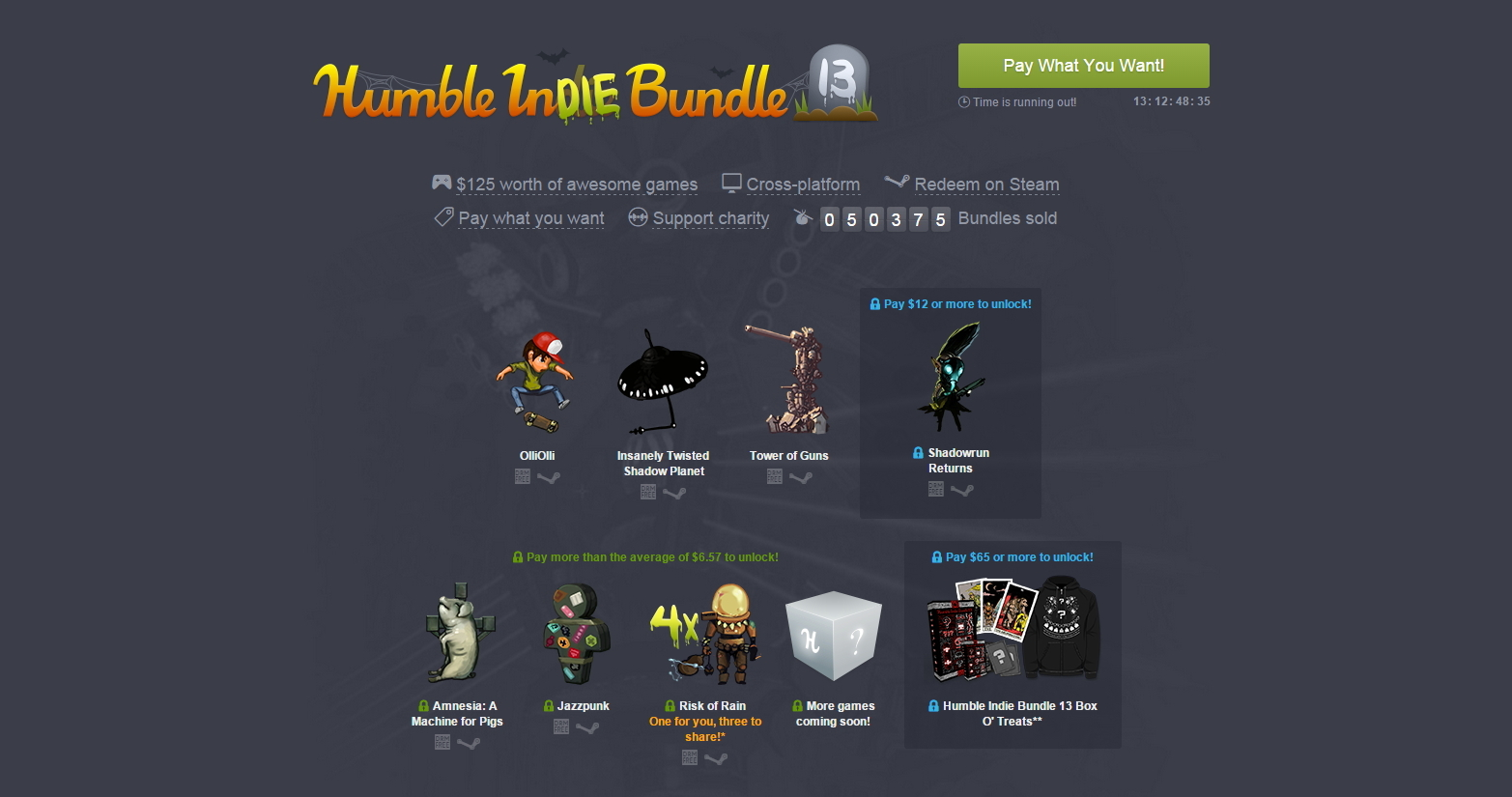 Halloween Gives Life To Humble InDIE Bundle 13 [Update