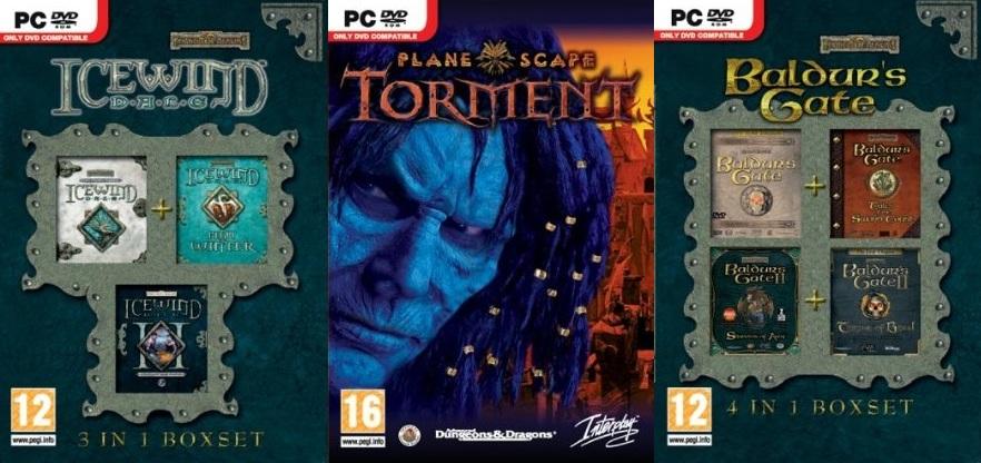 Planescape Torment Baldur S Gate Icewind Dale Reissues Coming