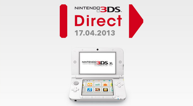 Nintendo Direct scheduled for April 17, featuring the Nintendo 3DS ...