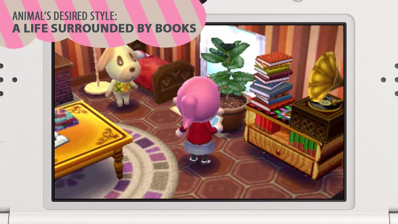 Animal Crossing Happy Home Designer Pax Trailer Introduces Lottie Looks At Interior Design