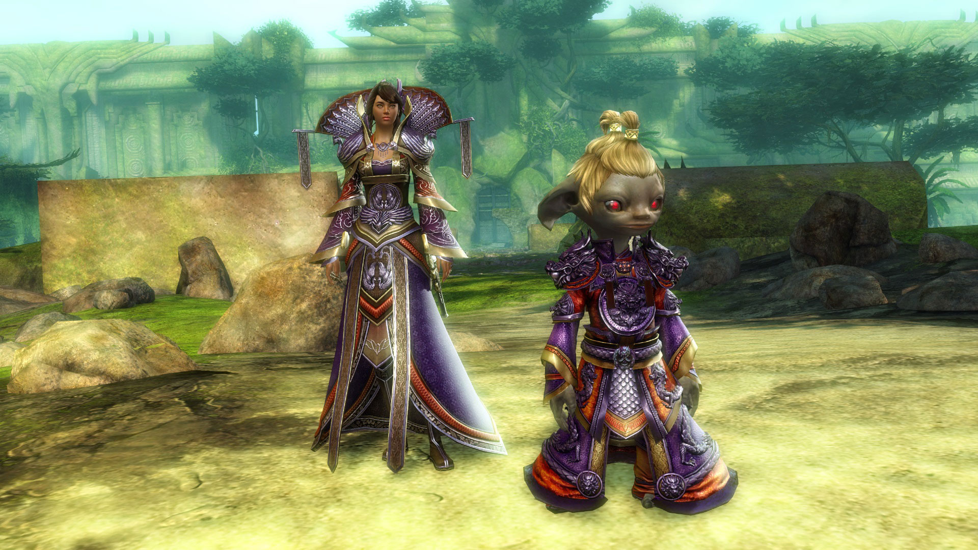 Guild Wars 2 gets into the Lunar New Year spirit, as new weapons