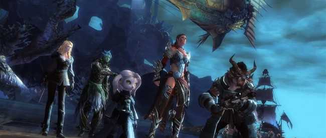 Official Guild Wars 2 launch trailer goes meta, rebels against the