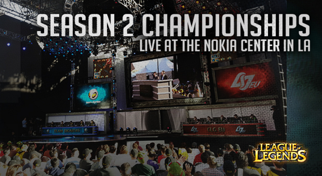 Day 2 Of The League Of Legends World Championship