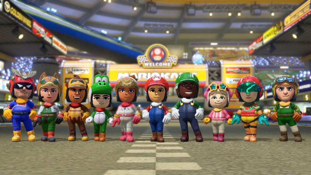 Mario Kart 8 Update Adding Amiibo Support Which Unlocks Character
