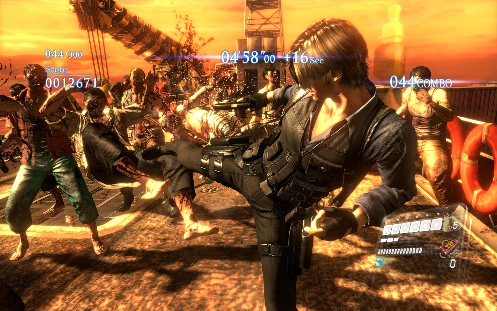 Resident Evil 6 Pc Will Have Exclusive No Mercy Mode Gameplay