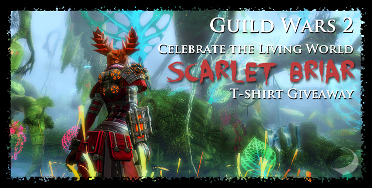 Neoseeker is giving away Guild Wars 2 Living Story t-shirts