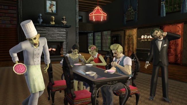The Sims 3 hops the zombie bandwagon with 'Supernatural' expansion, new screenshots released Image 1