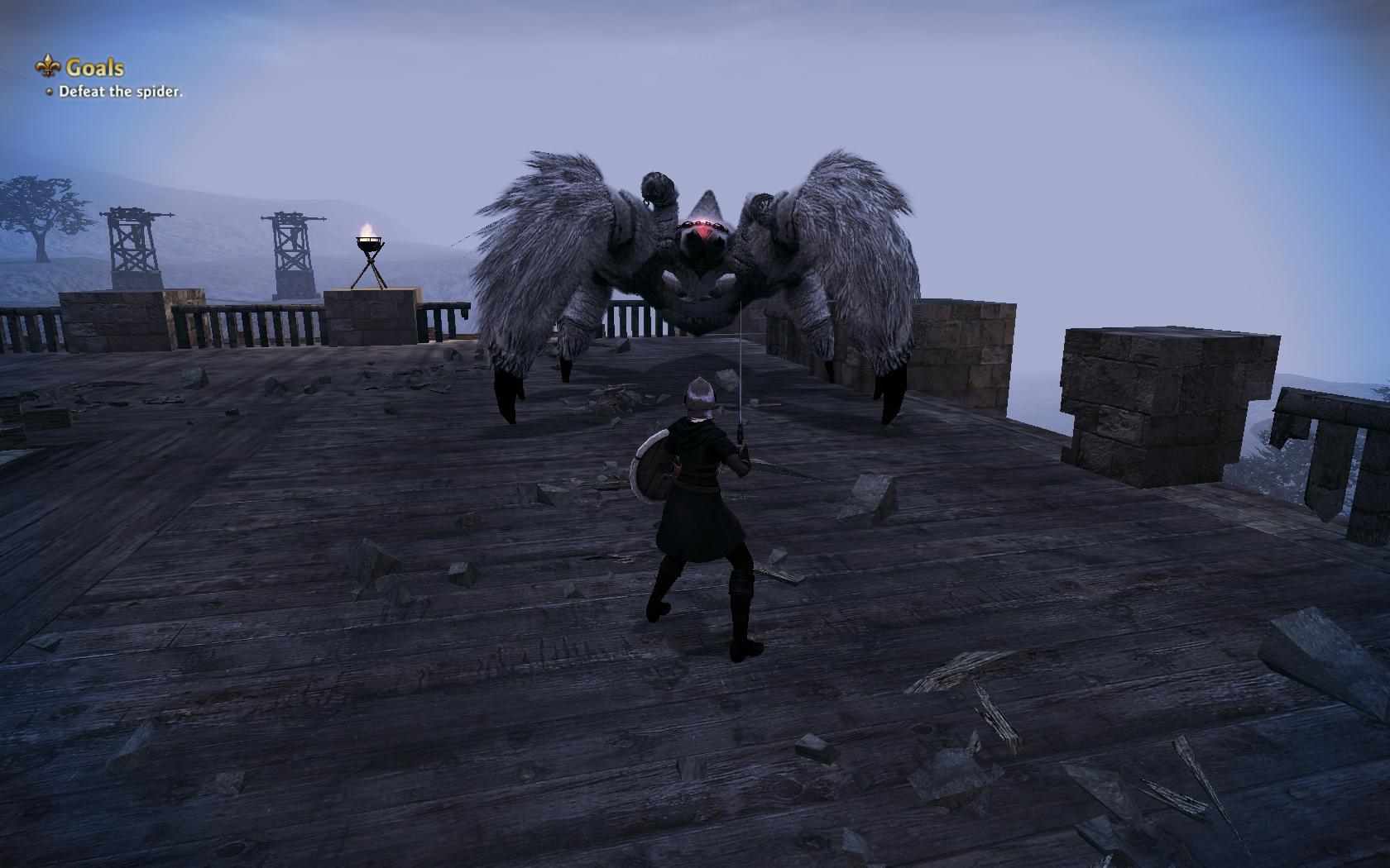 Vindictus Screenshots Reveal Spider Boss Non Skanky Female