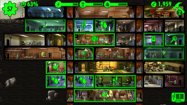 Fallout Shelter finally brings Vault-Tec underground living to