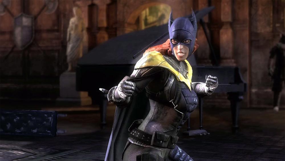 Batgirl och Batman dating