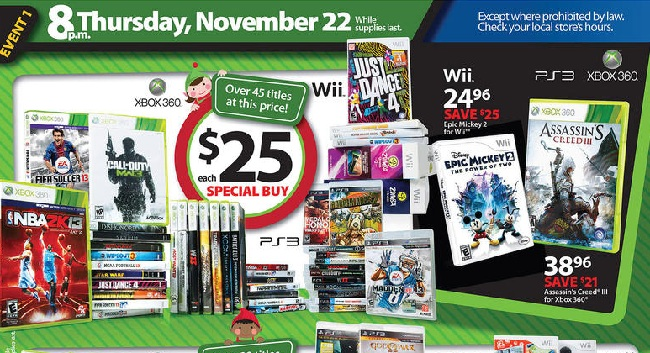 Black Friday Sale Highlights From Gamestop Best Buy Toys R Us