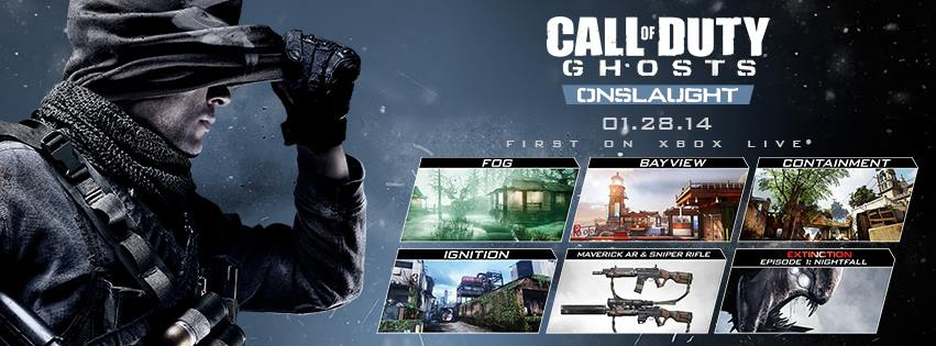 Call Of Duty Ghosts Onslaught Dlc Revealed Four Maps And