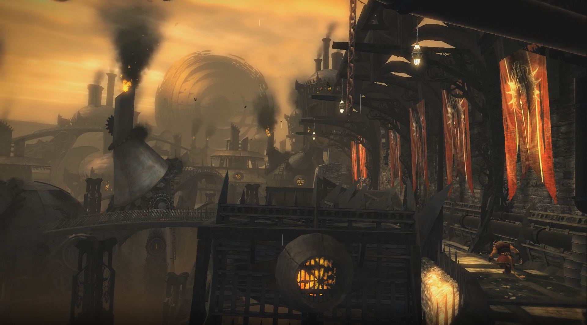 Guild Wars 2 trailer tours charr territory and Black Citadel
