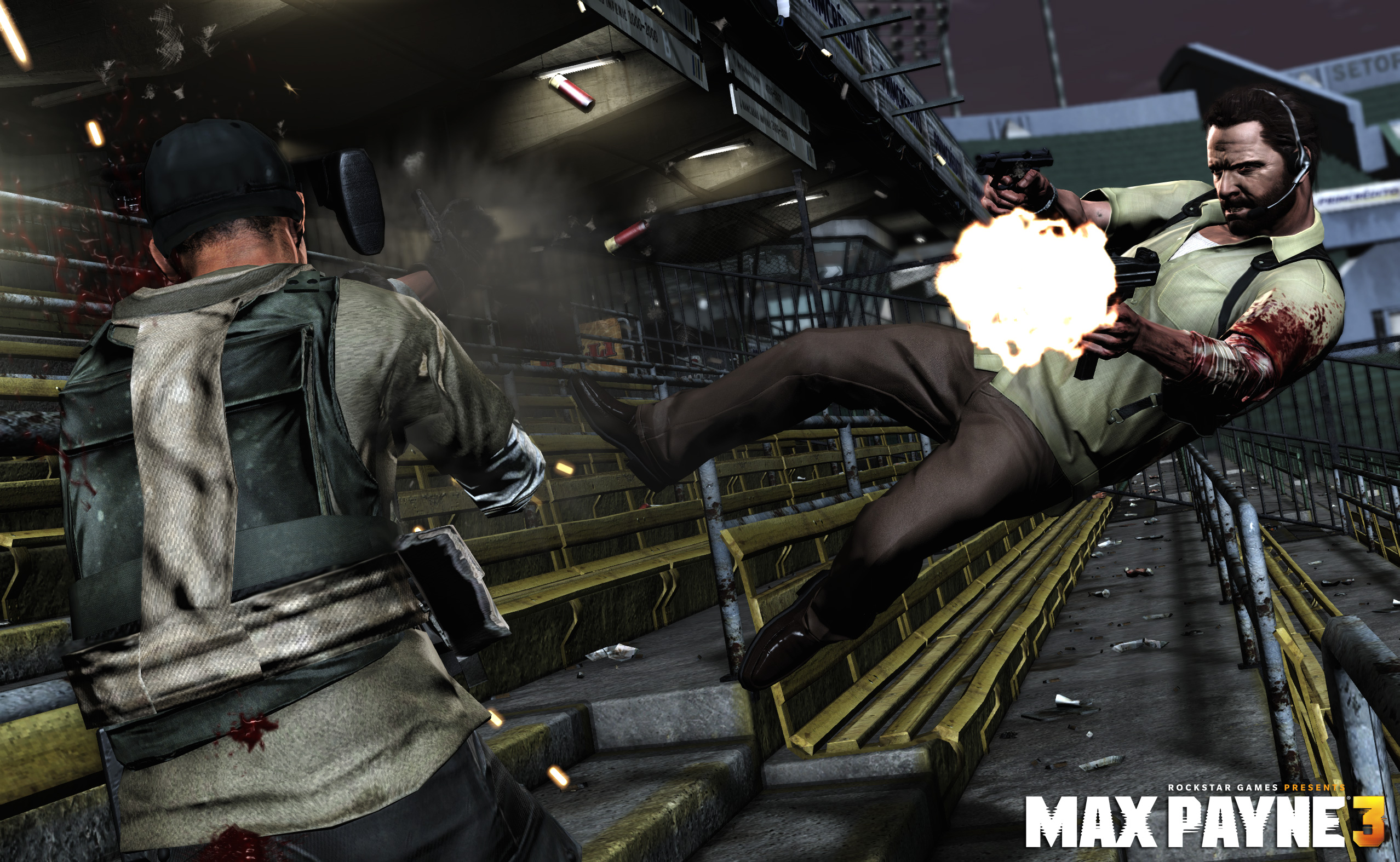 Max Payne 3 First Multiplayer Trailer Touches On Bullet Time