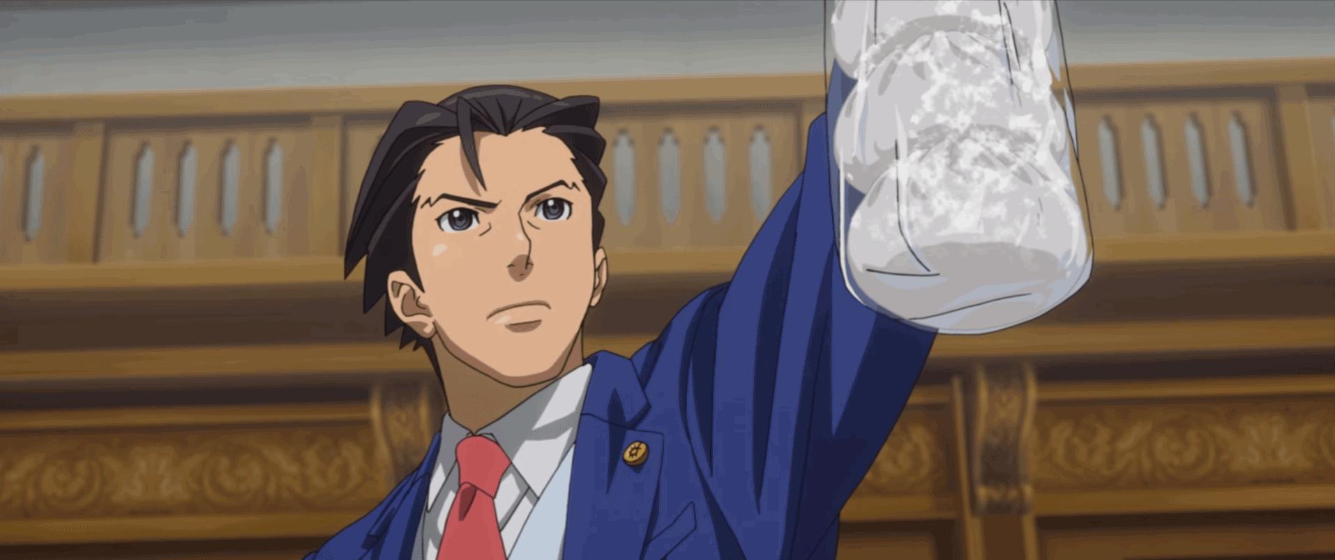 Phoenix Wright: Ace Attorney - Spirit of Justice prologue trailer, these pork buns were frozen - Neoseeker