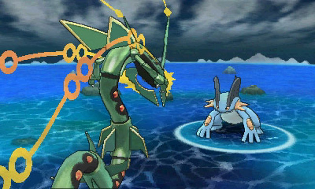 Rayquaza S Mega Evolution Is The Focus Of The Latest