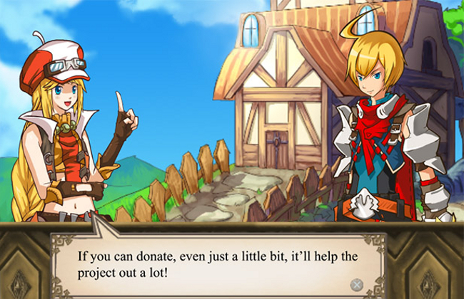 Kickstarter project Soul Saga JRPG is funded for journey to Oterra in 2014