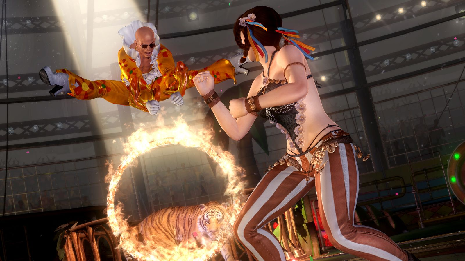 Zack may not be the scariest thing in new Dead or Alive 5