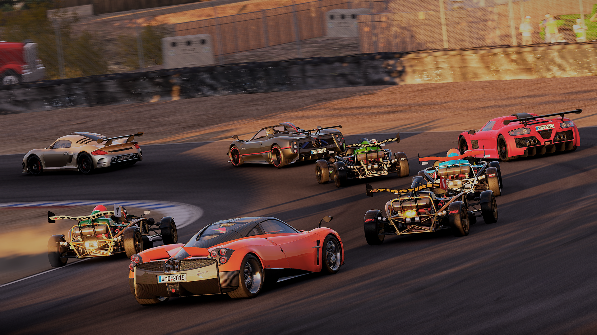 Project CARS' final car list released, including exclusives for ...