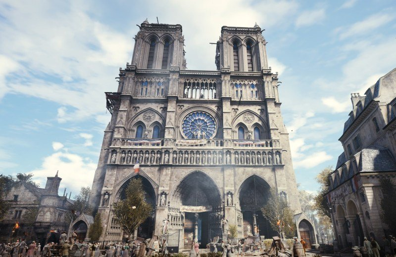 Assassin S Creed Unity Could Be Used As A Map For Rebuilding Notre