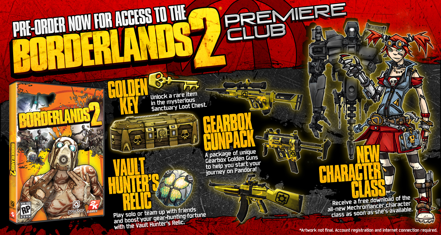 Borderlands 2 Special Editions Announced
