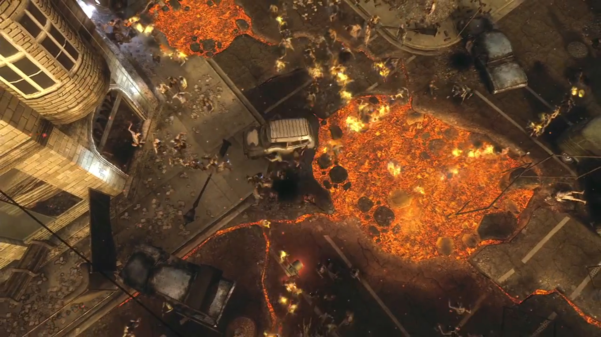 Call Of Duty Black Ops 2 S Zombie Bus Drops Off Full Trailer To