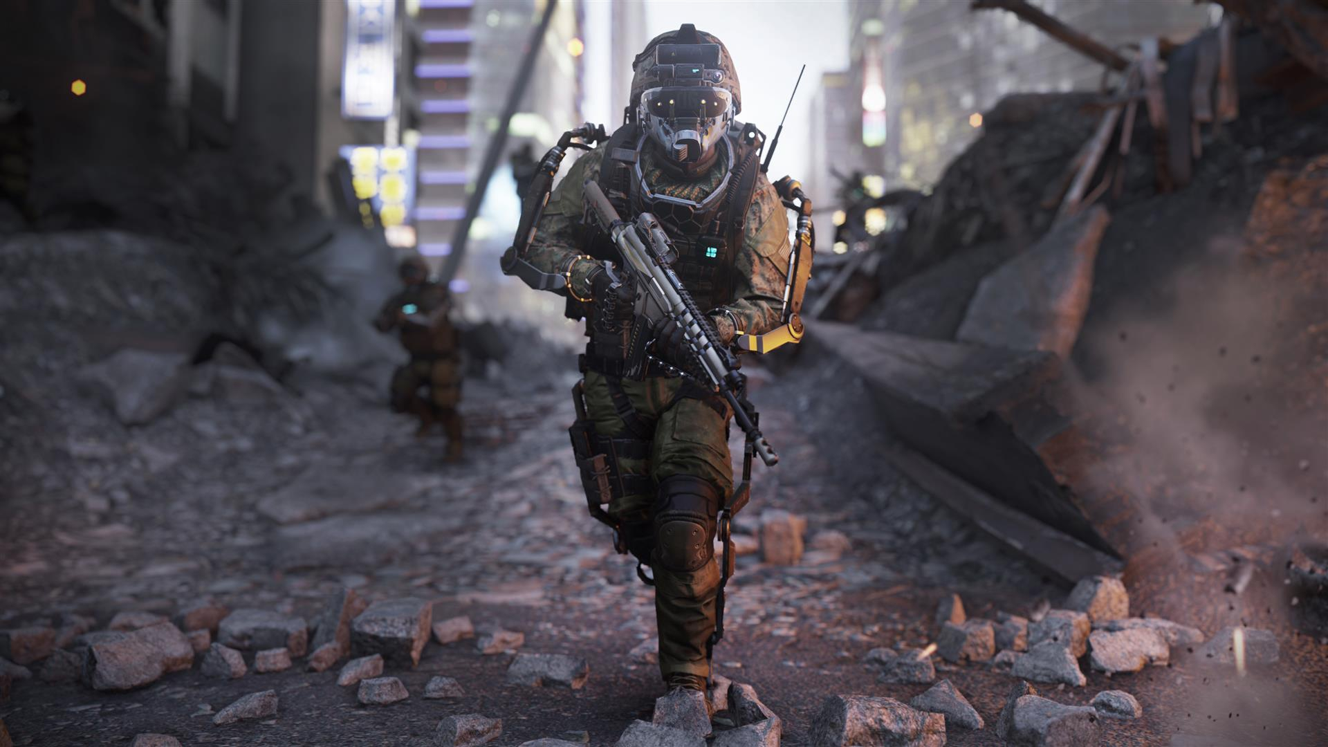 Call Of Duty Advanced Warfare Gameplay Demo Shows Sci Fi Touch Dlc Still Going To Xbox Live First Neoseeker