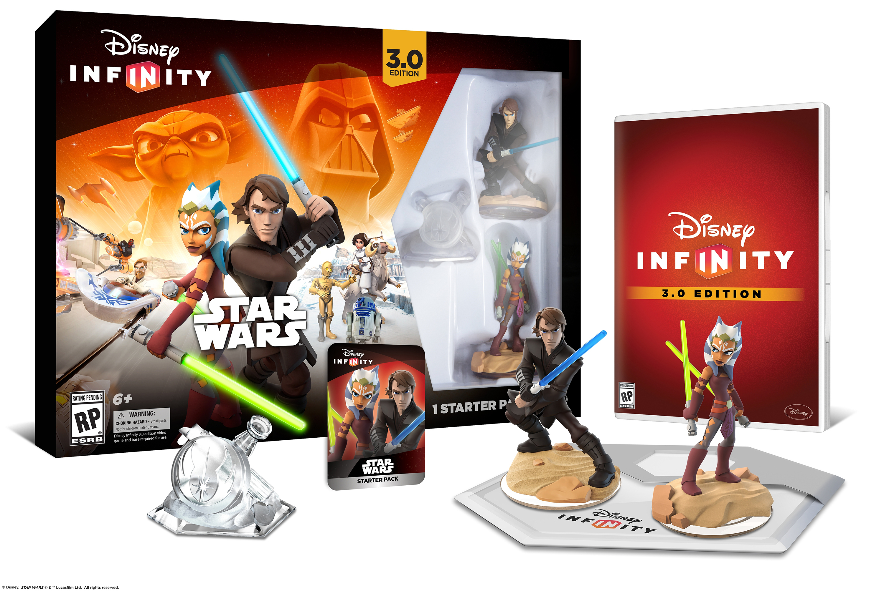 Disney Infinity 3.0 expands to Star Wars, starter pack ...