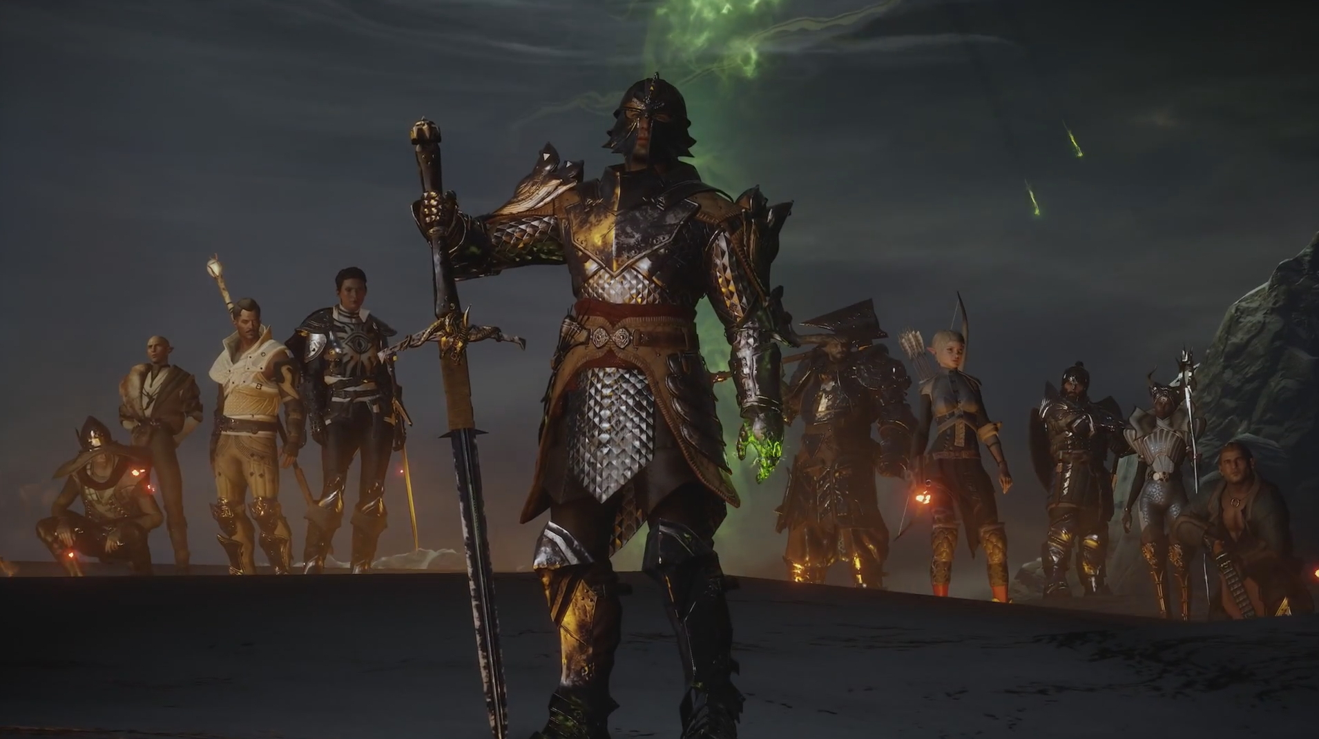 how to get all party members in dragon age inquisition
