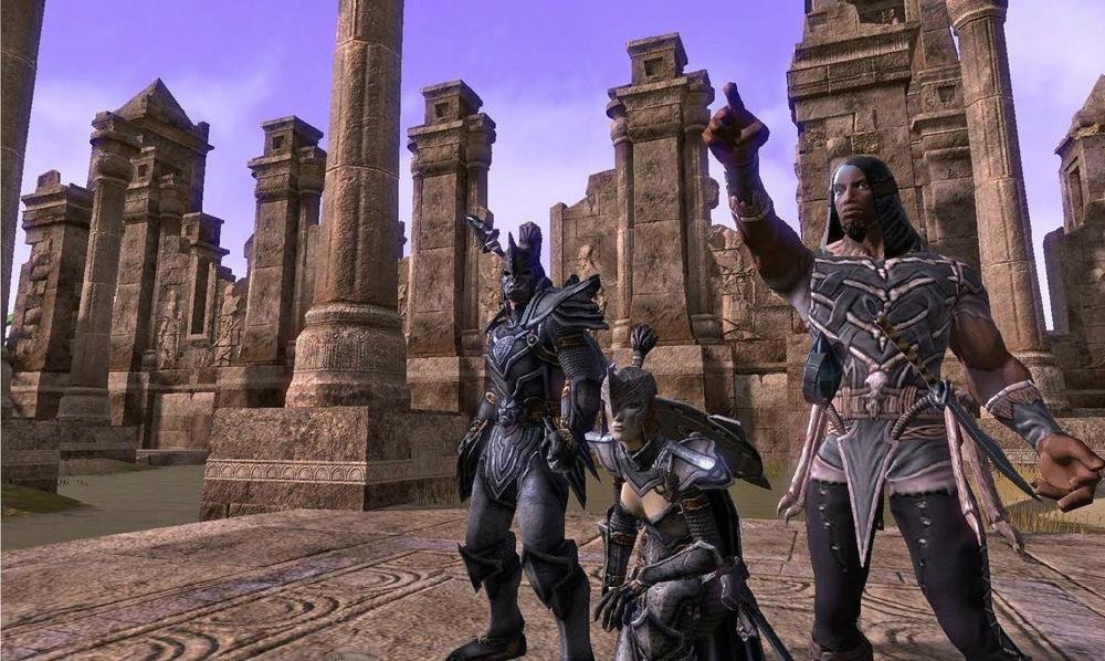 Elder Scrolls Online details, early screenshots leaked